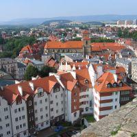 KłODZKO (widok z fortu), Клодзко