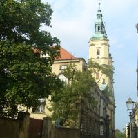 klasztor Franciszkanów oraz parafia pw Św. Jana Chrzciciela, Легница