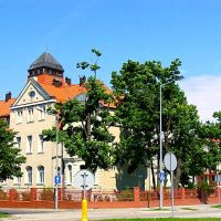 Legnica.ul.Grabskiego,róg Tadeusza Kościuszki.House of Adult social care, Легница