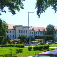 Legnica.ul.Grabskiego. Siedziba ZUS.Social Security Headquarters, Легница