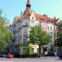 Legnica.Widok ul. Wojska Polskiego.View Street. Polish Army, Легница