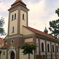 Legnica.Kościół prawosławny przy ul. Zofii Kossak.Orthodox Church Street. Zofia Kossak, Легница
