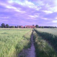 Szymanów, a panorama, Любан