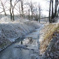 jb - grudzień 2007 - melioracja w zimowej szacie, Любан