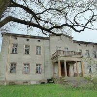 Poland, Poselwitz, Postolice, manor, Любан
