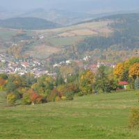 Nowa Ruda jesienią, Нова-Руда