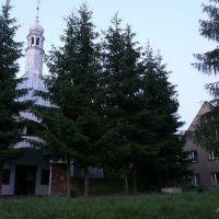 Neogotycki kościółek z XIXw na Górze Św. Anny, Нова-Руда