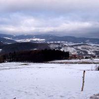 panorama z drogi na Annę, Нова-Руда