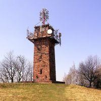 Przekaźnik TV na Górze św. Anny  647 m n.p.m. w Nowej Rudzie, Нова-Руда