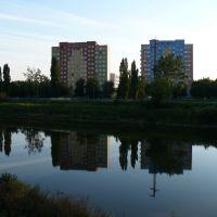 symetryczne wieżowce, Олава