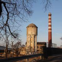 Wieża wodna i komin, Олесница