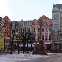 Town square in Swidnica, Свидница