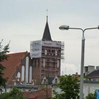 Wdok kościoła Św Katarzyny, Бродница