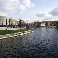 Bydgoszcz - rzeka Brda, Быдгощ