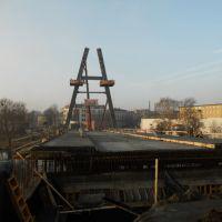 366 most tramwajowy nabiera kształtów, Быдгощ