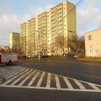 381 skrzyżowanie Ujejskiego - Karpacka - Glinki, Быдгощ
