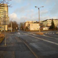 382 skrzyżowanie Ujejskiego - Karpacka - Glinki, Быдгощ