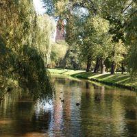 Włocławek - park H. Sienkiewicza., Влоцлавек
