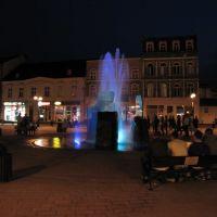 Inowrocław - Rynek , fontanna światła i muzyki, Иновроцлав