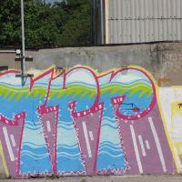 Inowrocław - ul.S. Czarnieckiego , graffiti, Иновроцлав