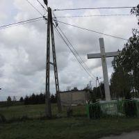 Bierzgłowo - Krzyż przydrożny, Свечье