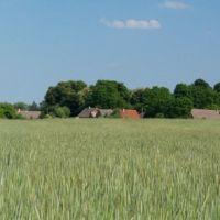 Wieś Zagórze - panorama, Горзов-Виелкопольски