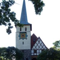 Przełazy, kościół, Заган