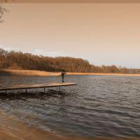 Przełazy - Niesłysz lake, Заган