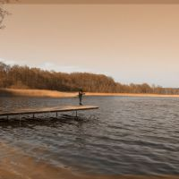Przełazy - Niesłysz lake, Зелона-Гора