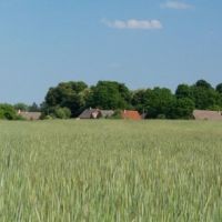 Wieś Zagórze - panorama, Меджиржеч