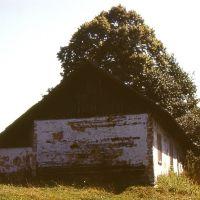Łapanów. Stary dom - rok 1976., Бочния