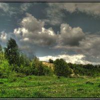 Przed deszczem, Горлице