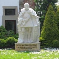 Pomnik Diersława I Karwacjana, Горлице