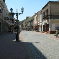 Ulica prowadząca do rynku w Gorlicach, Горлице