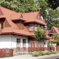 На улице Kazimierza Tetmajera, Закопане