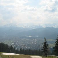 Zakopane - view from Gubalowka Mount, Закопане