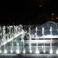#88 Szökőkút éjszaka - Krakkó, Lengyelország, Краков