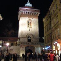 Brama Floriańska, Kraków/Florian Gate, Cracow, Краков (обс. ул. Коперника)