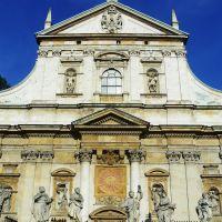 Kraków-Kościół Świętych Apostołow Piotra i Pawła/ Saints Peter and Paul Curch Paul/, Краков (обс. Форт Скала)