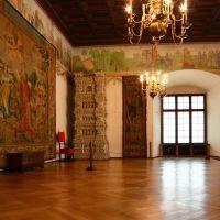 Sala Poselska, zw. także Pod Głowami Zamku Królewskiego na Wawelu. Miejsce obrad sejmu i przyjmowania poselstw (UNESCO), Краков (обс. Форт Скала)
