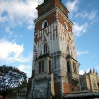 Wieża ratuszowa, Rynek Główny, Kraków/Town Hall Tower, Market Square, Cracow, Краков (ш. им. Нарутауича)