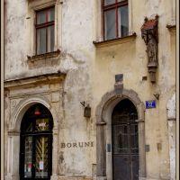 Kraków - Chrystusowy dom / The house with Christ- malby, Краков (ш. ул. Вроклавска)