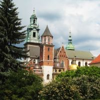 KRAKÓW - Katedra Wawelska, Краков (ш. ул. Вроклавска)