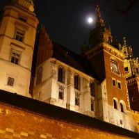 Polonia, Carcovia, Basilica Cattedrale dei Santi Stanislao e Venceslao (dedicato per digitaaal - Pista), Краков (ш. ул. Симирадзка)