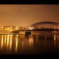 Piłsudski Bridge, Краков (ш. ул. Симирадзка)