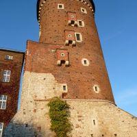 A Wawel kastély egyik tornya, Краков (ш. ул. Симирадзка)