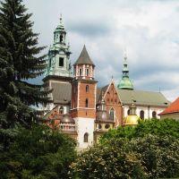 KRAKÓW - Katedra Wawelska, Краков (ш. ул. Симирадзка)