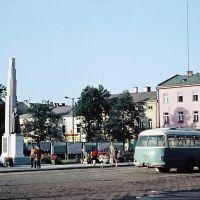 1968. Nowy Targ, Rynek (Fot. Witold)., Новы-Тарг