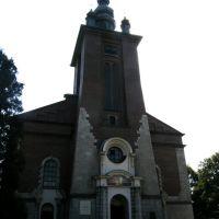 Kościół pw. N.S.P.J. w Nowym Targu - wejście główne, Новы-Тарг