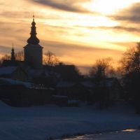 Nowy Targ by sunset, Новы-Тарг